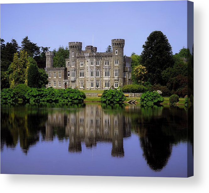 Archaeology Acrylic Print featuring the photograph Johnstown Castle, Co Wexford, Ireland by The Irish Image Collection