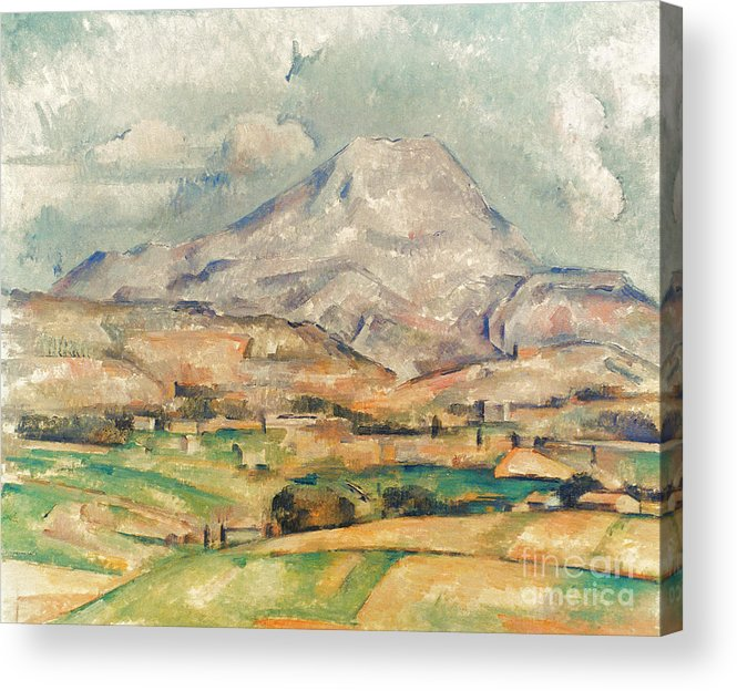 1897 Acrylic Print featuring the photograph Cezanne: St. Victoire, 1897 by Granger