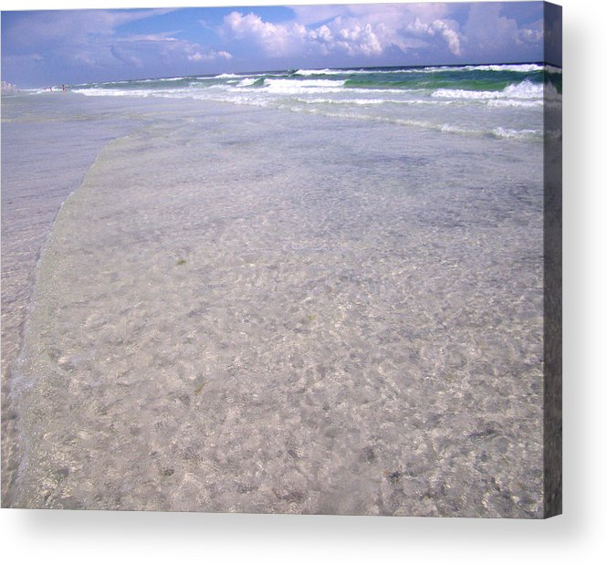 Water Acrylic Print featuring the photograph Gulf Shore by Nicole I Hamilton