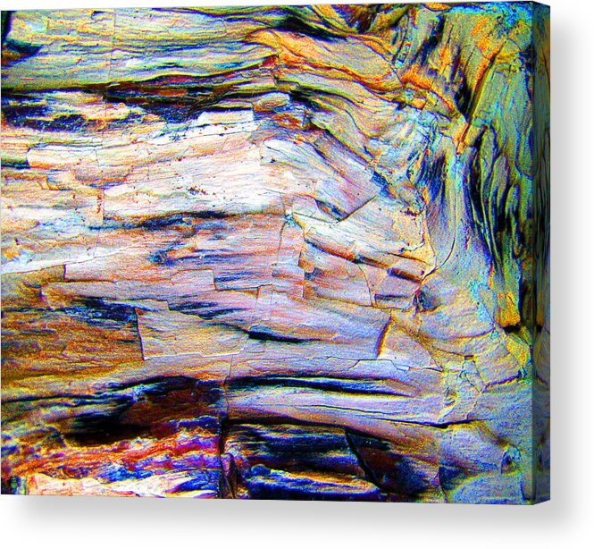 Color Acrylic Print featuring the photograph Layers Of Mystery by Nicole I Hamilton