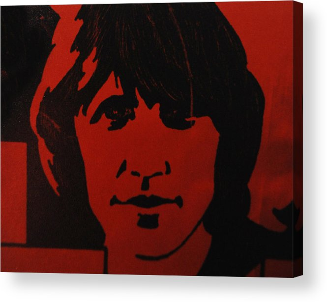 Abstract Acrylic Print featuring the photograph Roger Waters by Rob Hans
