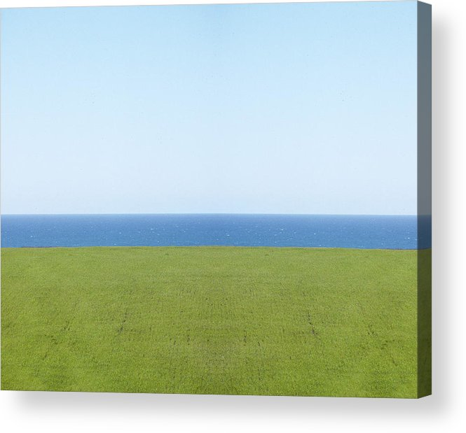 Sky Acrylic Print featuring the photograph Rothko Three by A paul Cartier