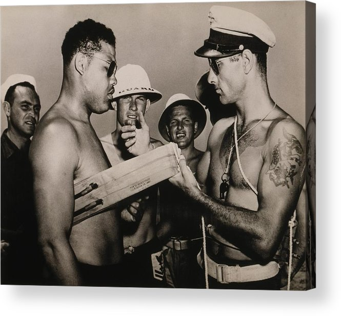 History Acrylic Print featuring the photograph Staff Sergeant Joe Louis, World by Everett
