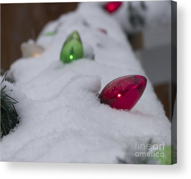Winter Acrylic Print featuring the photograph Christmas Lights1 by Michael Mooney