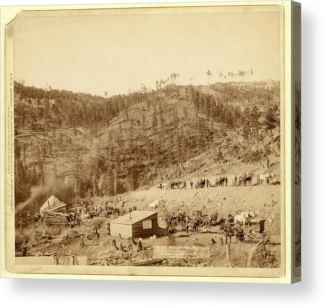 Whitewood Acrylic Print featuring the photograph Whitewood Canyon, Wade And Jones R.r. Camp by Litz Collection
