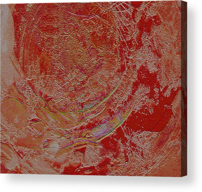 Acrylic Print featuring the digital art Sand Color by Mihaela Stancu