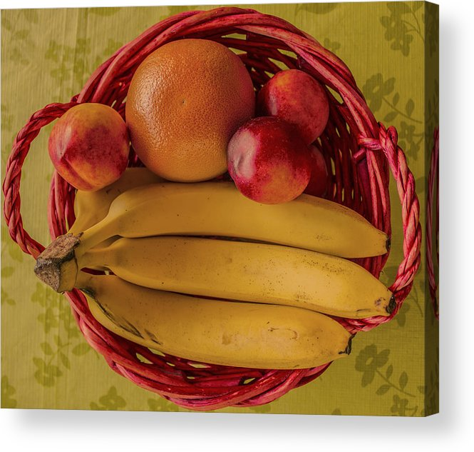 Fruits Acrylic Print featuring the photograph Fruits by John Nasir