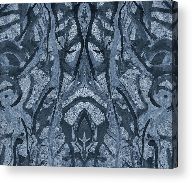 Evolutionary Branches Acrylic Print featuring the mixed media Evolutionary Branches by Dan Sproul