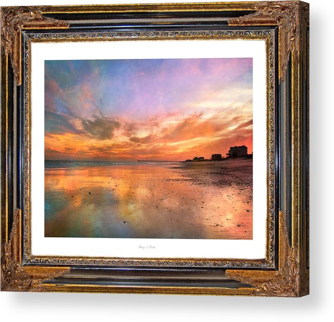 Topsail Acrylic Print featuring the photograph Lasting Moments by Betsy C Knapp