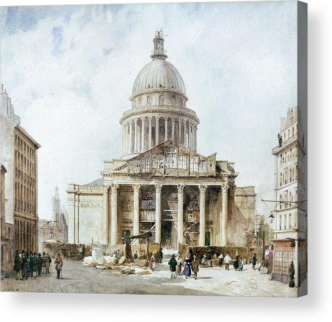 1835 Acrylic Print featuring the photograph Paris: Pantheon, 1835 by Granger