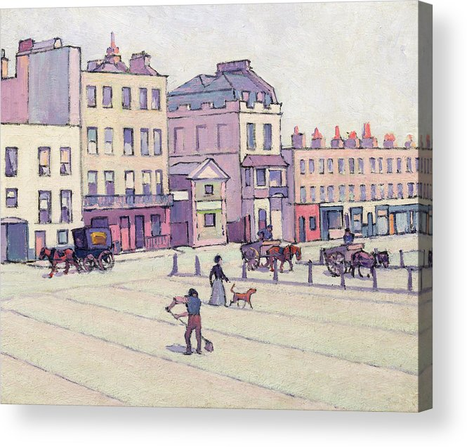 Xyc153929 Acrylic Print featuring the photograph The Weigh House - Cumberland Market by Robert Polhill Bevan