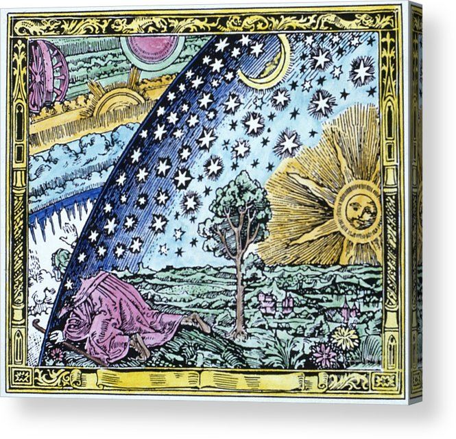 1530 Acrylic Print featuring the photograph Astronomer, 1530 by Granger