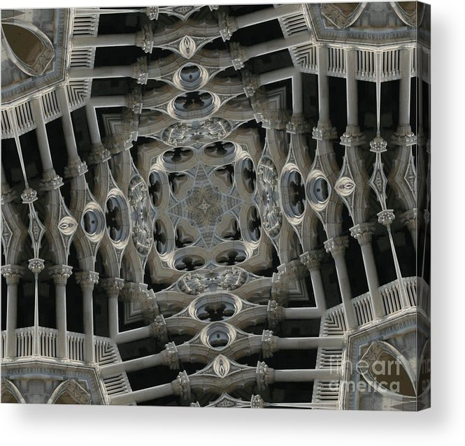 Gothic Architecture Acrylic Print featuring the photograph Flying Gothic 2 by Andy Mercer