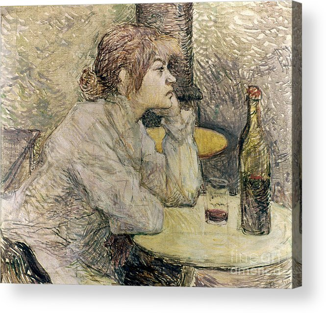 1889 Acrylic Print featuring the photograph Toulouse-lautrec, 1889 by Granger