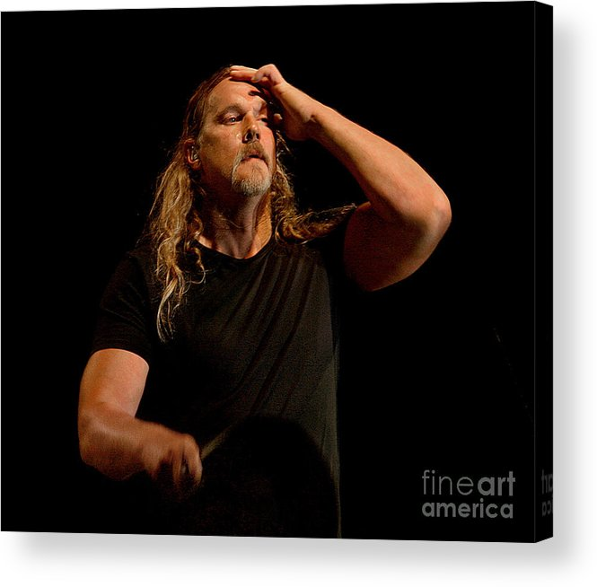 Trace_adkins_concert_photo Acrylic Print featuring the photograph Trace Adkins by Bruce Crummy