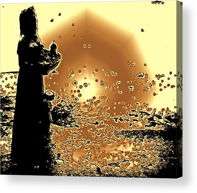 Life Acrylic Print featuring the photograph Light My Day by Luis A Vera