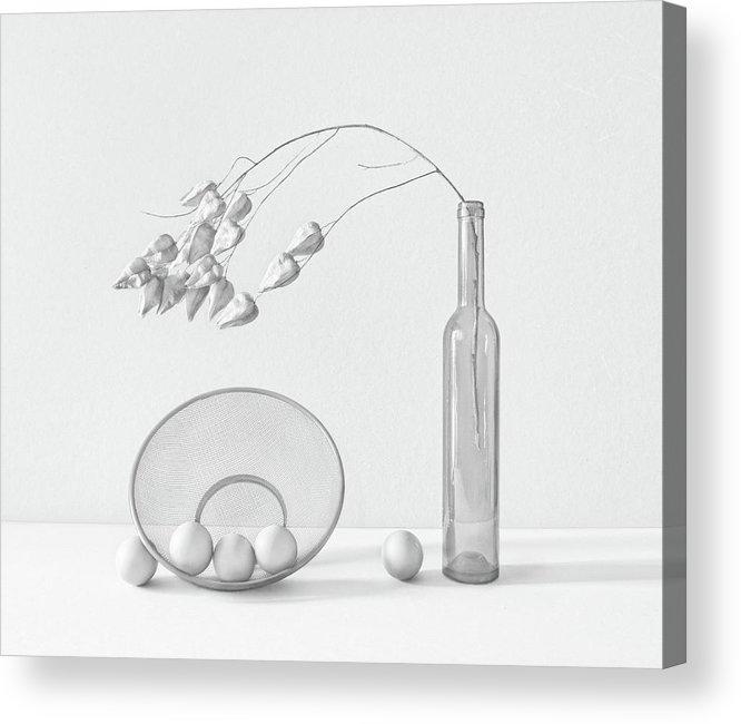 Still Life Acrylic Print featuring the photograph .o...~i by Dimitar Lazarov -
