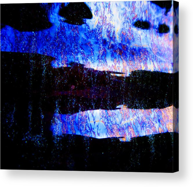Glaze Acrylic Print featuring the photograph Sadness by Laurie Tsemak