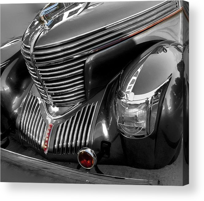 Vintage Acrylic Print featuring the photograph 1939 Graham by Roger Lapinski