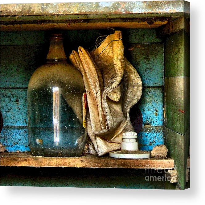 Still Life Acrylic Print featuring the photograph The Dust Gatherers by Julie Dant