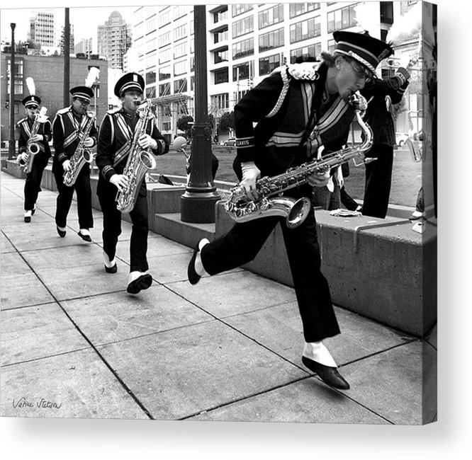 Marching Band Acrylic Print featuring the photograph Tune Up by Sabine Stetson