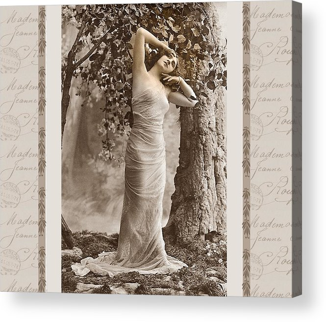 Vintage Acrylic Print featuring the photograph Dream Of The Night by Mary Morawska