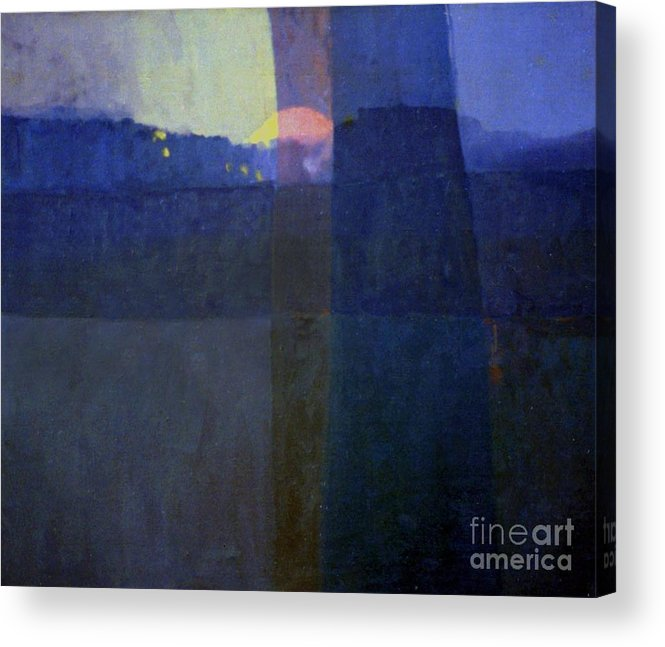 Abstract Acrylic Print featuring the painting Holocaust by Donald Maier