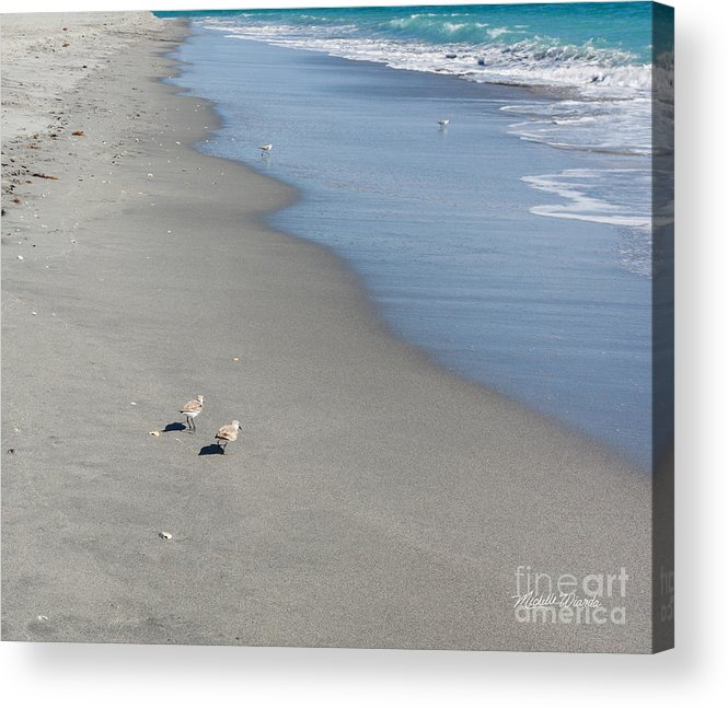 Seaside Holiday Acrylic Print featuring the photograph Seaside Holiday by Michelle Constantine