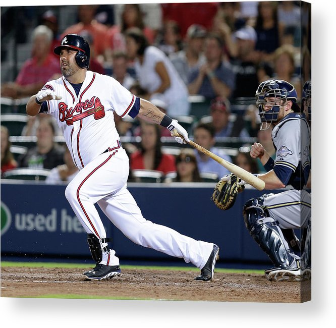 Atlanta Acrylic Print featuring the photograph Gerald Laird by Mike Zarrilli