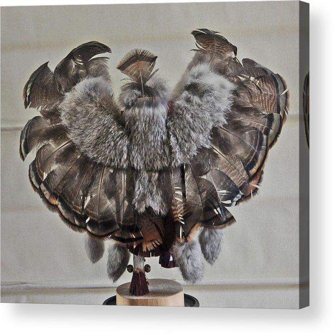 Eagle Acrylic Print featuring the photograph Back Kachina Eagle by Jay Milo