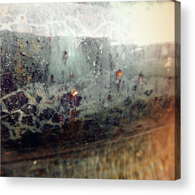 Emotion Acrylic Print featuring the photograph Go Meditate by Laurie Tsemak