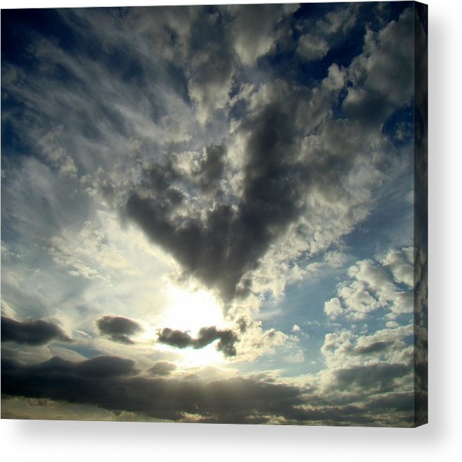 Clouds Acrylic Print featuring the photograph Clouds Two by Ana Villaronga