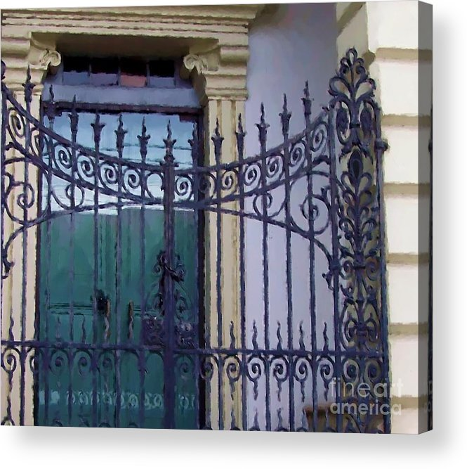 Gate Acrylic Print featuring the photograph Gated by Debbi Granruth