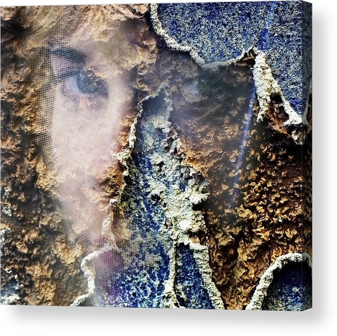 Female Acrylic Print featuring the photograph Torn by Skip Hunt