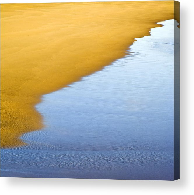Abstract Seascape Acrylic Print featuring the photograph Abstract Seascape by Frank Tschakert