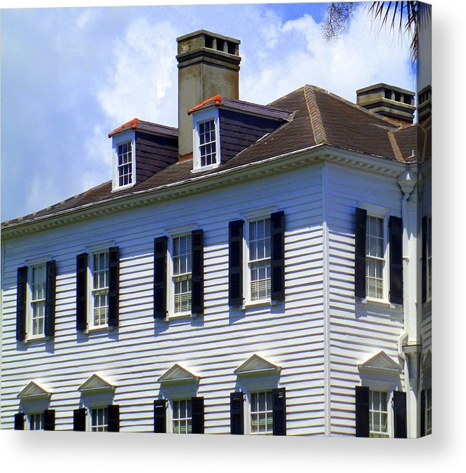 Charleston Acrylic Print featuring the photograph South Battery Beauty by Randall Weidner