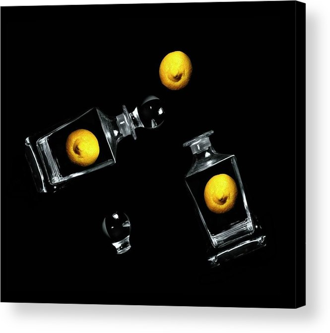 Lemons Acrylic Print featuring the photograph Toss Me A Lemon by Diana Angstadt