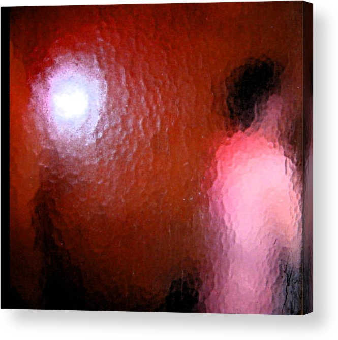 Abstract Acrylic Print featuring the digital art Nude Impression 4 by Lenore Senior