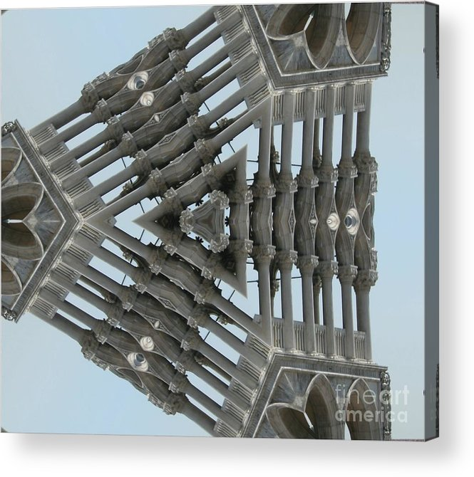 Gothic Architecture Acrylic Print featuring the photograph Flying Gothic by Andy Mercer