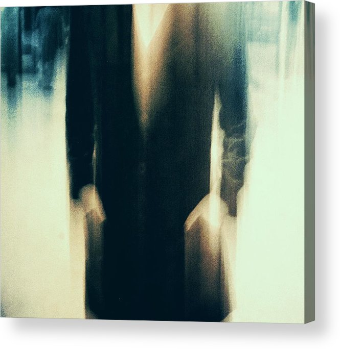 Everyday Acrylic Print featuring the photograph Shadows (behind) by Dalibor Davidovic