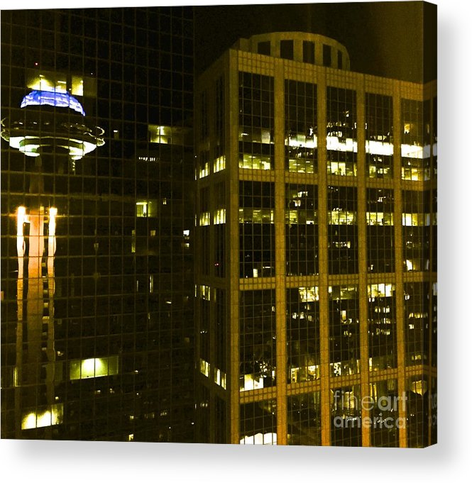 City Acrylic Print featuring the photograph 09032015005 by Debbie L Foreman