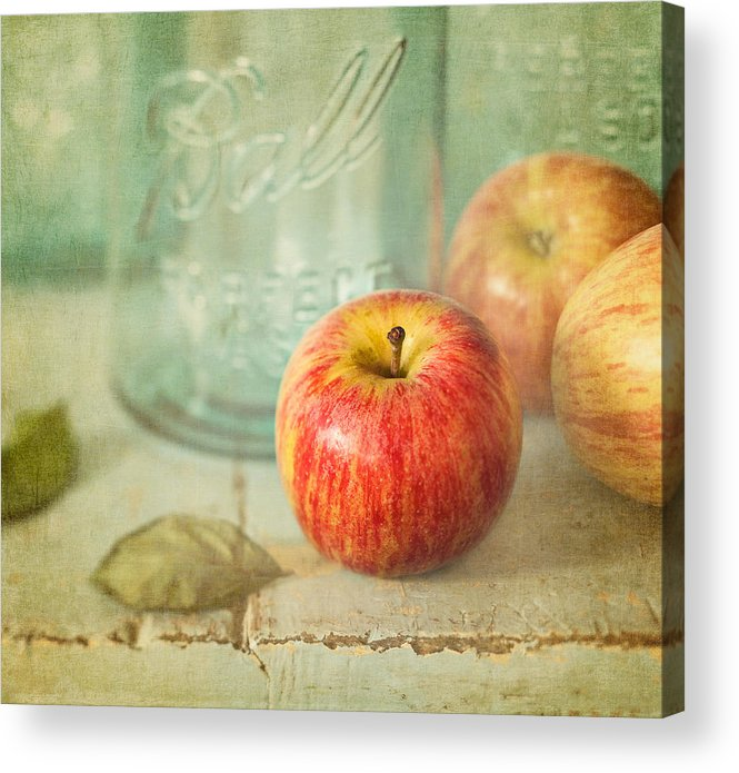 Apple Acrylic Print featuring the photograph Country Comfort by Amy Weiss