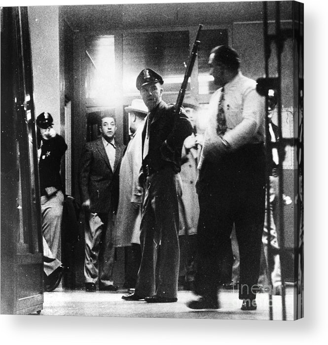 1950s Acrylic Print featuring the photograph Utah State Prison Riot by Granger