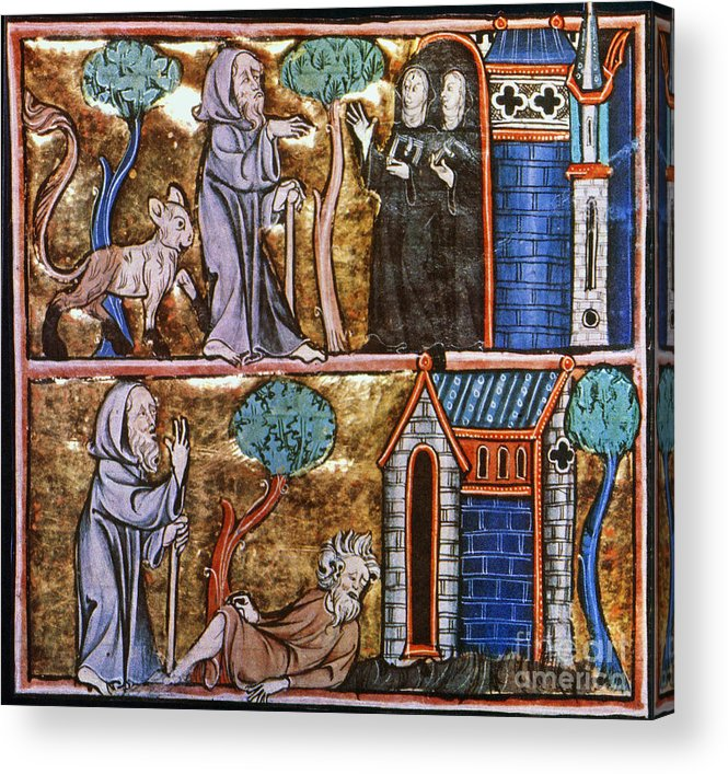 14th Century Acrylic Print featuring the photograph Travels Of Merlin by Granger