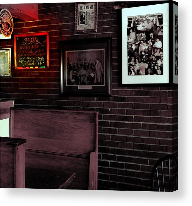 Food Acrylic Print featuring the photograph Today's Special by Chris Berry