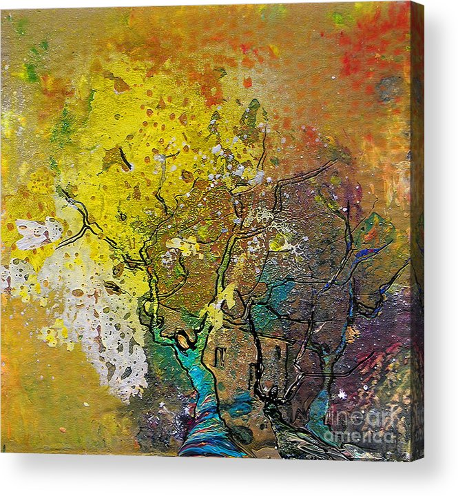 Miki Acrylic Print featuring the painting Fantaspray 13 1 by Miki De Goodaboom