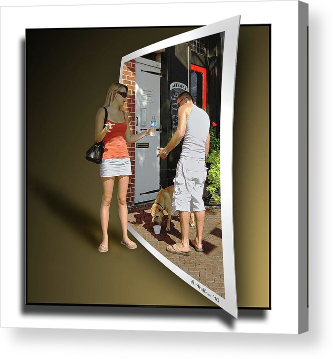 2d Acrylic Print featuring the photograph Worlds Apart by Brian Wallace