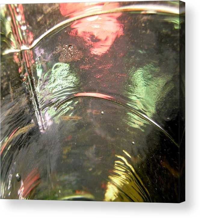 Orange Acrylic Print featuring the photograph Abstract 1778 by Stephanie Moore