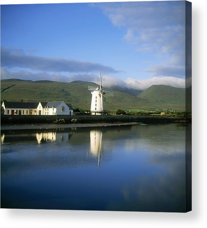 Day Acrylic Print featuring the photograph Blennerville Windmill, Blennerville, Co by The Irish Image Collection