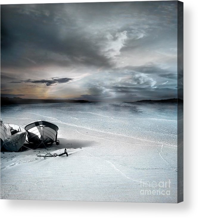 Water Acrylic Print featuring the photograph Stranded by Jacky Gerritsen